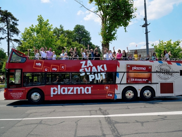 Belgrade Open Bus tour